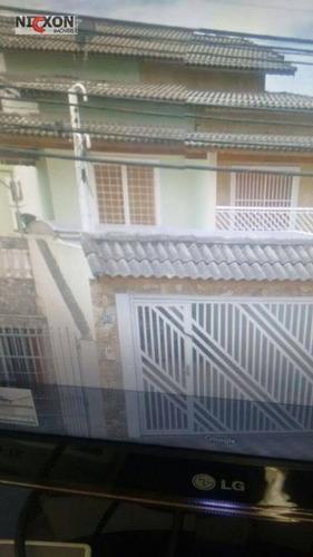 Sobrado Residencial À Venda, Jardim Pinhal, Guarulhos. - So0239