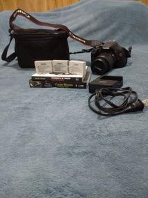 Câmera Canon Rebel T3i E Kit Completo