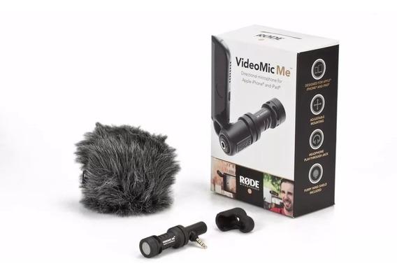Microfone Rode Videomic Me Para Smartphone 12x S/juros