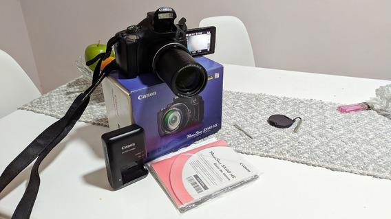 Canon Sx40 Hs Semi Profissional + Tripé + Cartão Sd 16gb