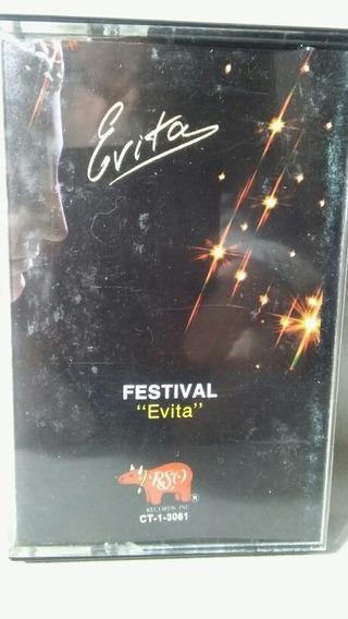 Casette Festival Evita Importado En Excelente Estado