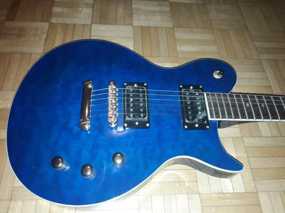 Guitarra Phoenix Les Paul Azul