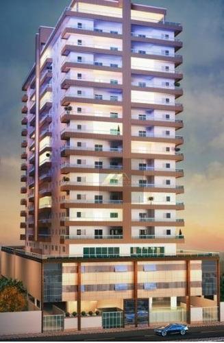 Apartamento Com 2 Dormitórios À Venda, 91 M² Por R$ 455.300,00 - Vila Caiçara - Praia Grande/sp - Ap1545