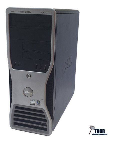 Computador Workstation Dell T3400 Ram 4gb Hd 500gb Core 2