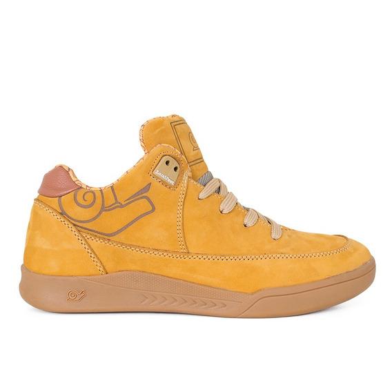 Tênis Land Feet Gig Camel Original