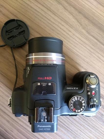 Câmera Semi Profissional Panasonic Lumix Dmc-fz100