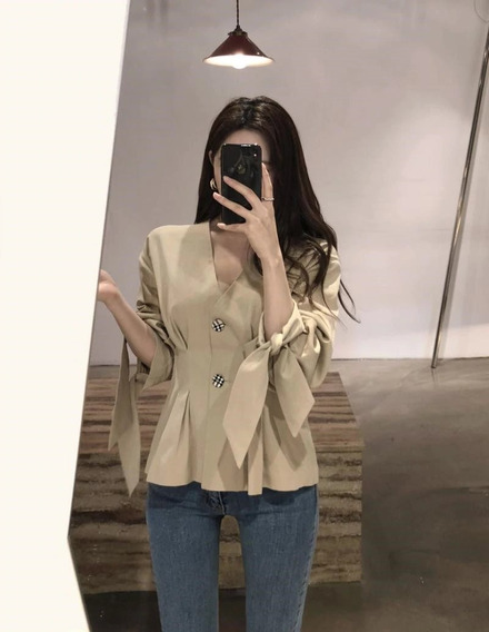 Blusa De Mujer Camisa Vintage