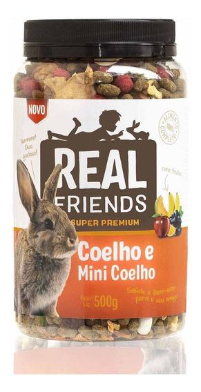 Realfriends Coelho Com Frutas - 500 G