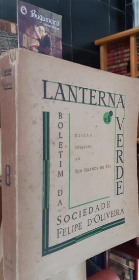 Revista Lanterna Verde - Nº 8 - Dedicada Rio Grande Do Sul
