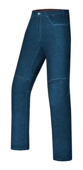 Calça X11 Jeans Ride Kevlar Azul Masculina Motoqueiro Casual