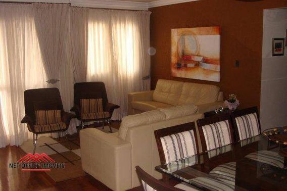 Apartamento Com 4 Dormitórios À Venda, 127 M² Por R$ 640.000 - Edifício Maison Hellene - Jardim Satélite - São José Dos Campos/sp - Ap1548