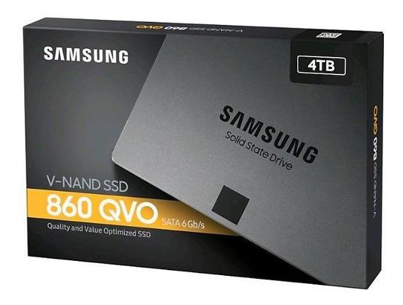 Hd Ssd Samsung 860 Qvo 4tb Sata 6gb/s 2,5