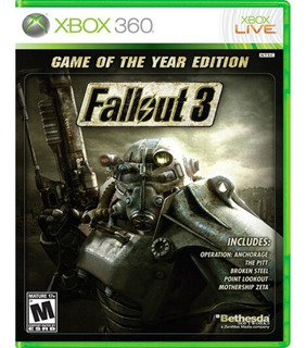Fallout 3 Game Of The Year Edition Xbox 360, Nuevo