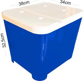 Porta Ração Caes Gatos Container 15 Kg Furacao Pet ( 0541)