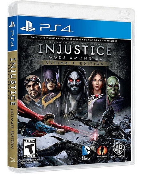Jogo Injustice Ultimate Edition Ps4 Disco Fisico Cd Original