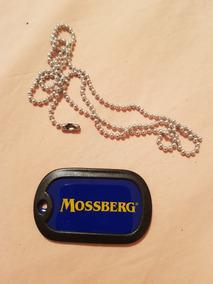 Colar Com Pingente Mossberg Militar
