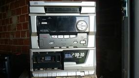 Micro System Cce Md-3000 (com Defeito Para Tirar Peças)