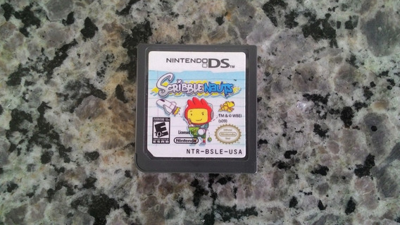 Jogo Scribblenauts Do Nintendo Ds (original)