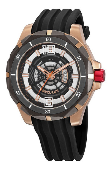 Relógio Seculus Masculino 20758gpsvui1