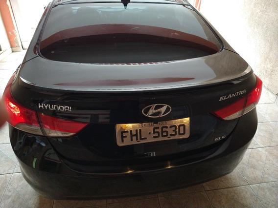 Hyundai Elantra 2013 1.8 Gls Top Preto