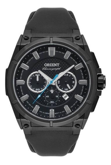 Relógio Orient Masculino Couro Mpscc008 P1px Preto Original
