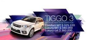 Nueva Camioneta Chery Tiggo 3 Tenela Antes Que El Resto!!!