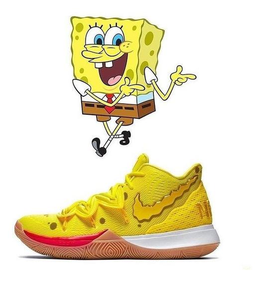 Zapatillas Nike Kyrie 5 Bob Esponja (sponge Bob)