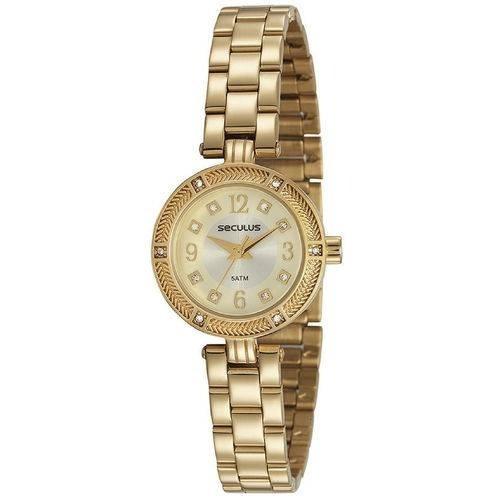 Relógio De Pulso Feminino Seculus Cód. 23603lpsvds1