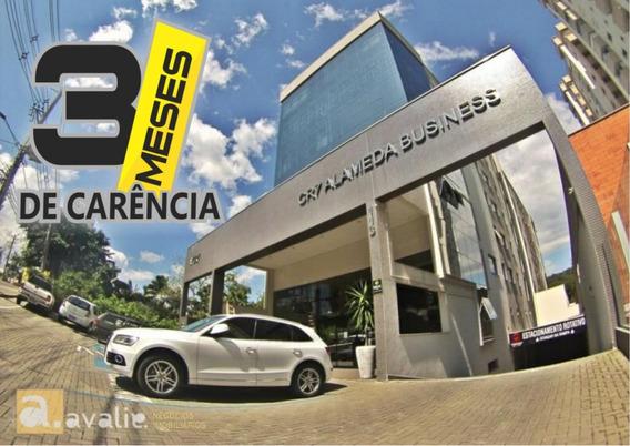 Oportunidade!! Sala Comercial Nova Em Centro Empresarial, Com 3 Meses De Carência No Valor Do Aluguel. - 6002182l