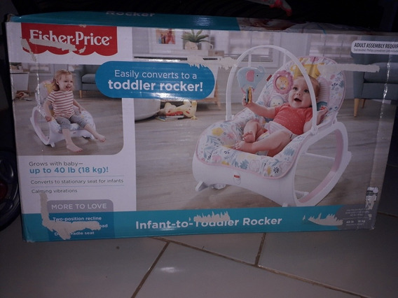 Silla Mecedora Fisher Price Para Bebé