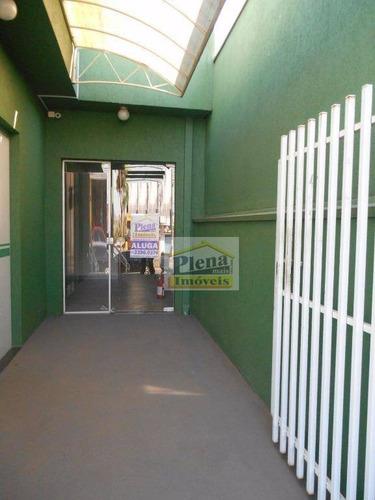 Salão Para Alugar Com Ar Condicionado E 30 M² - Centro - Sumaré/sp - Sl0556
