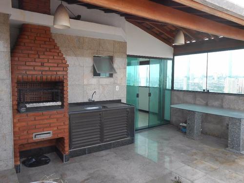 Cobertura Residencial À Venda, Tatuapé, São Paulo. - Co0271