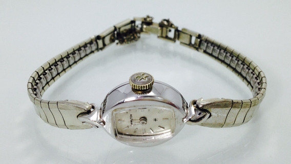 Reloj Hamilton De Oro Blanco 14k (ref 658)