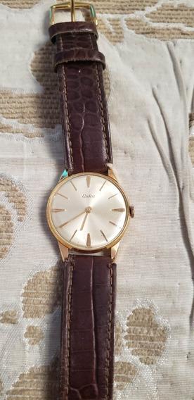 Relógio Antigo Eska Corda Anos 50 Suiço Perfeito