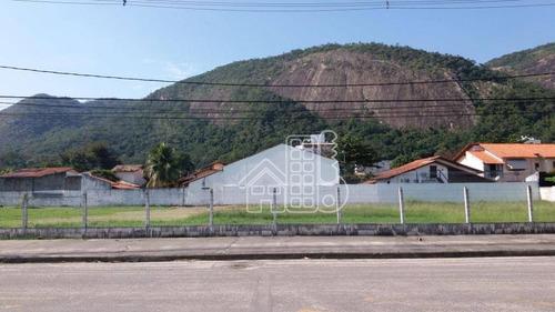 Área, 3002 M² - Venda Por R$ 4.000.000,00 Ou Aluguel Por R$ 20.000,00/mês - Itaipu - Niterói/rj - Ar0009