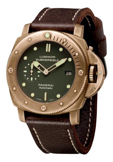 Panerai Luminor Submersível Bronze Pam382 - Perfeito