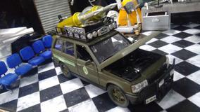 Land Rover Do Exercito Brasileiro 1/24 Nova E Customizada