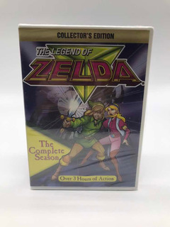 Legend Of Zelda Serie Animada Original Americana Lacrada Dvd