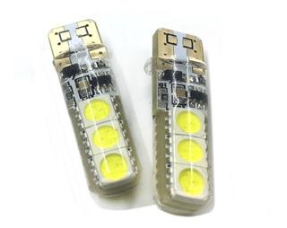 Luz Tecnología Led T 10 Estrobos 12v Luz Blanca 1 Pieza