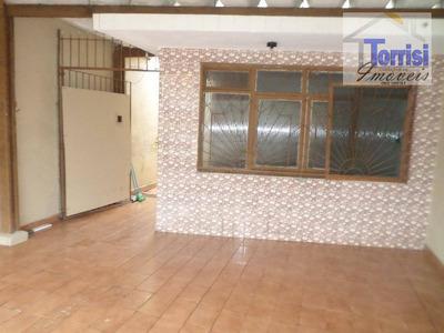 Casa Em Praia Grande, 200 Metros Da Praia, 02 Vagas, Churrasqueira Na Guilhermina Ca0082 - Ca0082