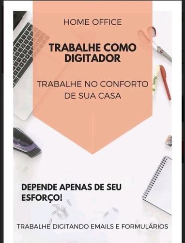 Imagem 1 de 2 de Home Office Digitador Online