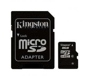 Cartao Micro Sd Kingston 8gb
