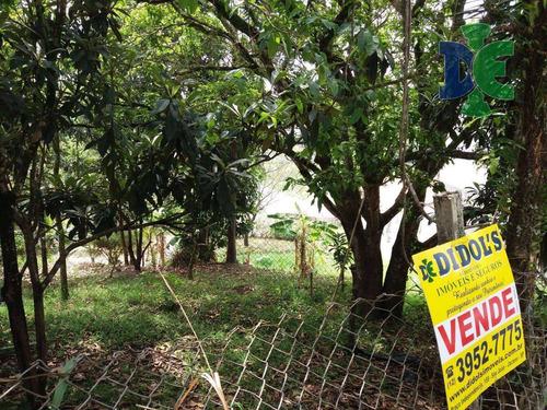 Terreno À Venda, 200 M² Por R$ 60.000,00 - Chácaras Reunidas Igarapés - Jacareí/sp - Te0168