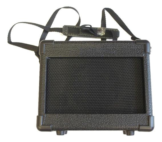 Amplificador Guitarra Electrica Portatil 5w 9v A Pilas