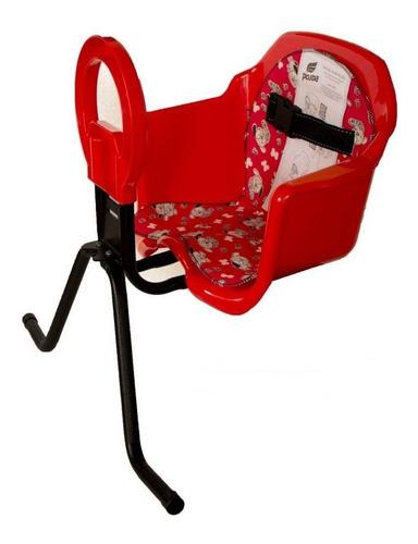 Imagem 1 de 3 de Cadeira Bicicleta Dianteira Cadeirinha Luxo Frontal Oferta