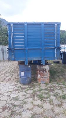 Carroceria 3/4, Ano 2013/2014, Marca União, Cor Azul