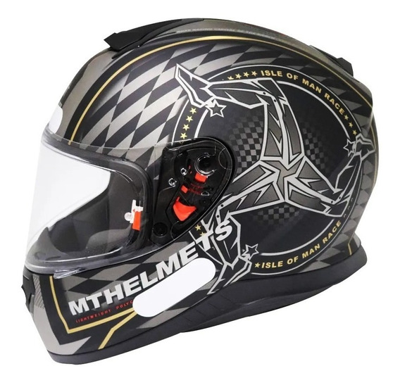 Capacete Mt Thunder 3 Isle Of Man