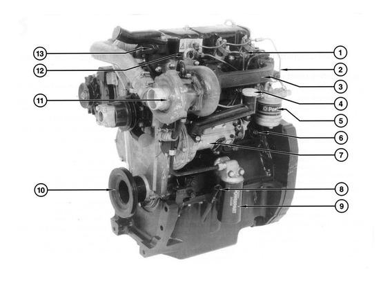 Manuales De Taller Motores Perkins D3.152 3.152-4 Y T3.152-