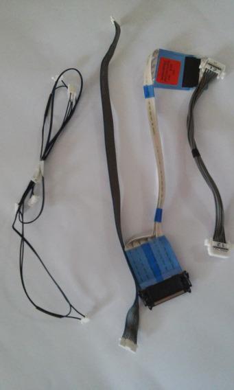 Kit Cabo Flat + Conectores + Sensor Tv Lg 42lx330