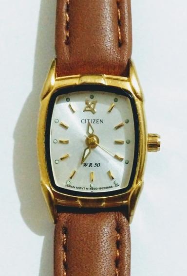 Reloj Para Dama Citizen Usado Funcionando Perfectamente